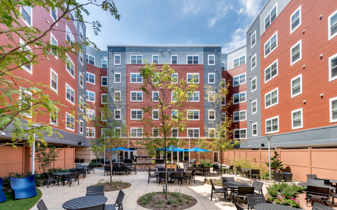 The Bainbridge Companies, LLC and Pinecrest Open Doors to One Easton at the University of Delaware in Newark, Delaware.
